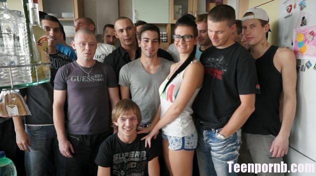 CzechGangBang - Emylia Argan - CZECH GANGBANG 16 Group porn