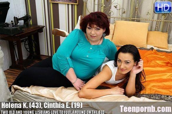 Old-and-Young-Lesbians - Helena K. - Cinthia E. 19 Mom Lezbian porn