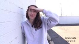 GloryholeSwallow Erika First Visit SD
