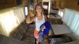 ProjectRV Kelly Greene Ohio Hottie Banged in the RV