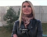 PublicAgent E350 Karina Grand Tall blonde fucks for money