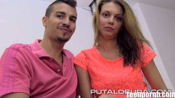 PutaLocura Daniela Leon y JD La pechotes y su novio se lo montan