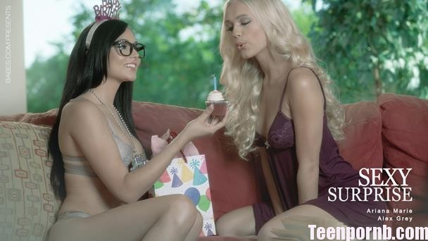 Babes Alex Grey, Ariana Marie Sexy Surprise HD 3gp mobil spankbang