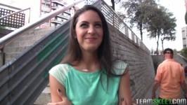 TeensLoveMoney Carolina Abril, Spanish Waitress Fucks For Cash