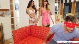 Sophia Leone, Veronica Rodriguez sex video