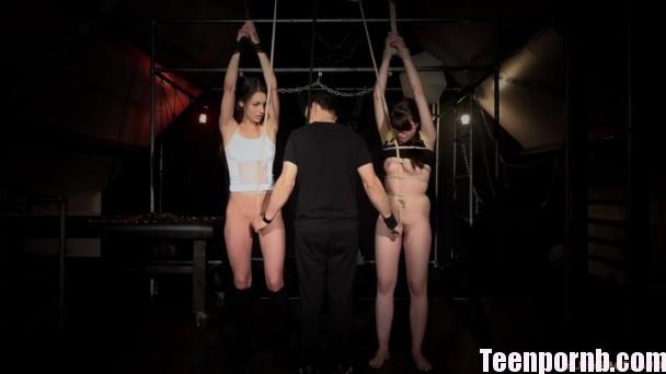 BDSM Luna Rival, Arwen Gold Hogtie Slaves Porn (3)