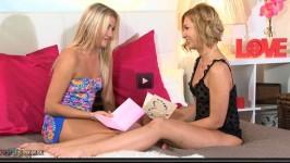 Girlfriends Cayla Lyons, Tracy The Valentine Plot HD