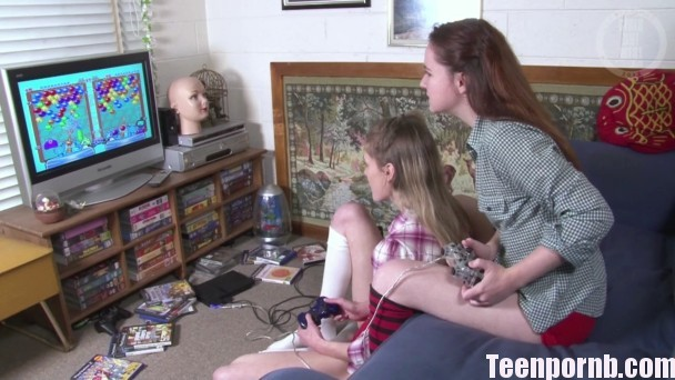 GirlsOutWest Annabelle Lee, Celine Game On Lezbian teen porn game porn videos