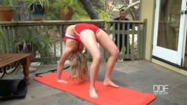HotLegsAndFeet Mia Malkova Sensual Yoga Porn