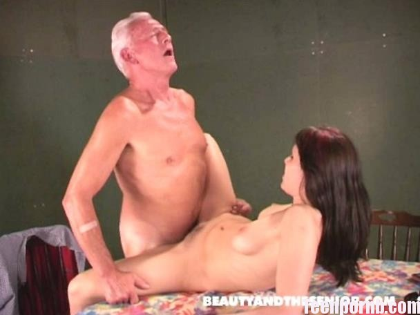 BeautyAndTheSenior Kate and Johan OldMan Teen Porn (3)