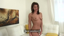 FakeAgent Paola Fitness chick fucks for work SD