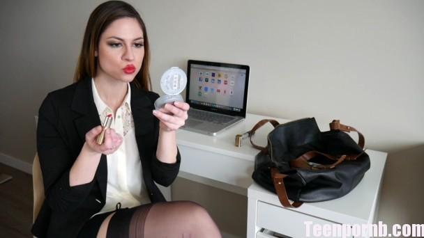 Clips4sale Ashley Alban Training Your Secretary Porn 3gp sex