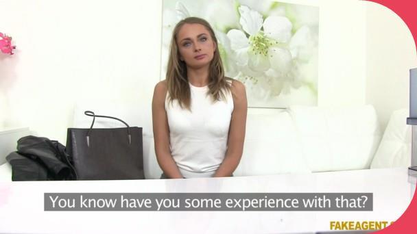 FakeAgent Ivana Sugar Hot Russian sucks, fucks Casting 3gp mobil sex vids (1)