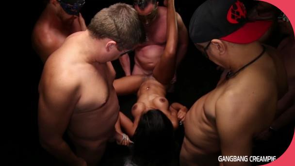 GangbangCreampie Sadie Gangbang Creampie 55 Full HD 3gp mobil sex (3)