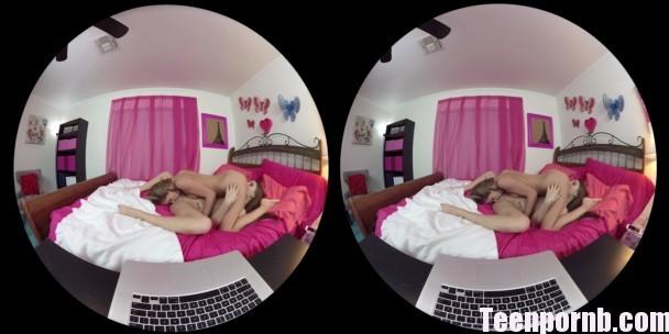 NaughtyAmerica JoJo Kiss, Sydney Cole Oculus Rift Virtual Reality 3gp mobil samsung (1)