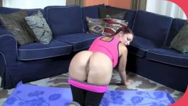 Clips4sale Goldie Blair Mummys Yoga Lesson step Son