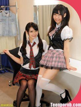 Japanese Teen Porn idol Akubi Yumemi, Runa Kobayashi 3gp school girl sex idol asian free download (2)
