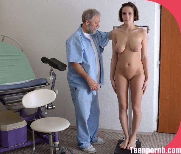 Gyno-X Anabelle 21 years girl gyno exam Vaginal Enema
