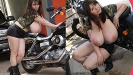 Milena Velba Back to Bike Big Tits Porn HD