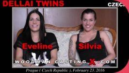 WoodmanCastingX Dellai Twins Eveline Dellai, Silvia Dellai Casting X 5