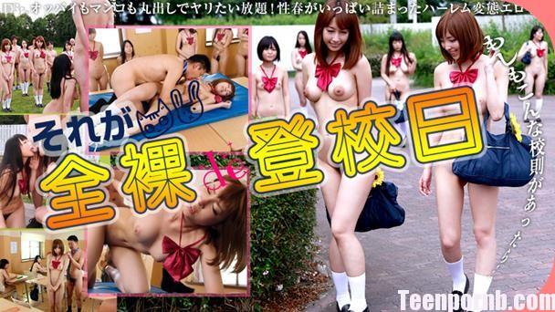 Japanese Naked School Girls Porn HIKARU, SECILE uncen 3gp mobil porn uniform sex jav teen asian teacher fuck (8)
