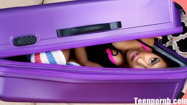 Nicole Bexley Black Girl in a Suitcase Pron