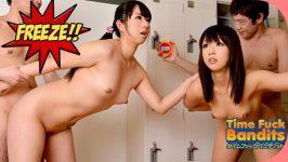 Yui Asano, Tomomi Nakama Time Fuck Bandits at a Gym