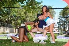 BigTitsInSports Diamond Jackson, Nikki Benz Jordi -el nino polla