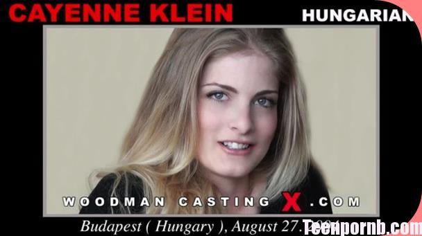 WoodmanCastingX Cayenne Klein Casting X 98 Anal Pron
