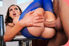 BigWetButts Nikki Benz Pantyhose Playtime Anal Pron
