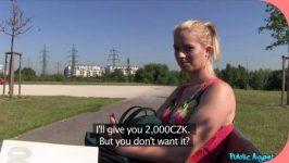PublicAgent Ebba Sofie Flower Dress Beauty Fucks for Cash