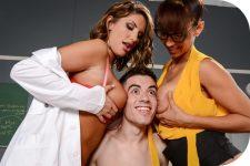 August Ames, Isis Love Jordi -El Nino Polla A Tip To The School Nurse