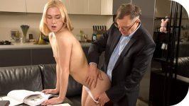 TrickyOldTeacher Via Lasciva Old teacher treats her sexy student properly