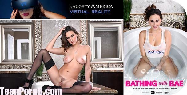 Ashley Adams Bathing with Bae Virtual Reality VR Porn