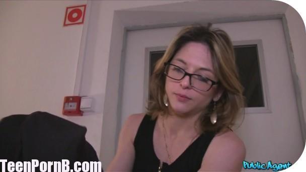 PublicAgent Rachel Adjani French Tourist Fucked in Public Stairwell