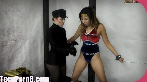 PrimalsDarkside Superheroine Melissa Moore Wonder Girl Broken Will XXX