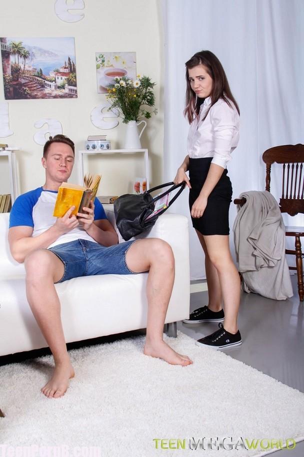 FuckStudies Lizi Vogue Boring lesson ends with anal sex