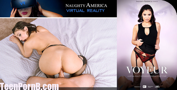 Violet Starr, Rion King Voyeur Virtual Reality, VR Porn