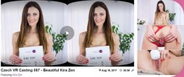 CzechVRCasting Beautiful Kira Zen 087 Virtual Reality, VR Porn