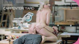 ElegantAnal Zazie Skymm Carpenter Yard Anal Porn