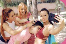 Gala Brown, Claudia Bavel, Irina Vega Jordi -El Nino Polla