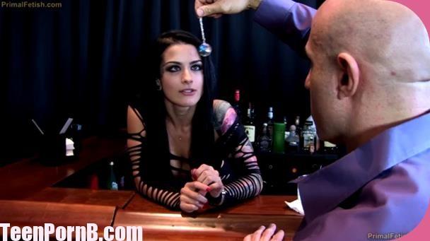 PrimalFetish Katrina Jade Training the Bitchy Bartender