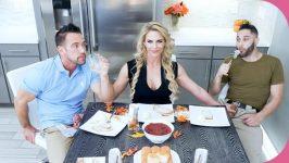 FamilyStrokes Phoenix Marie Army Boy Meets Busty Stepmom For Thanksgiving