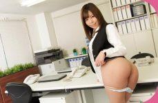 Sara Saijo Alone in The Office Japanese Secretary uncen