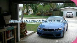 Butt3rflyforUFantasies Rae Knight Mommys Handjob In Her BMW M4