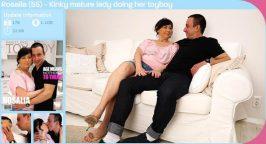Mature.nl Mature.eu Rosalia 55 Kinky mature lady doing her toyboy