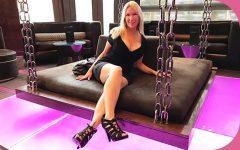 MomPov Adria Gorgeous blonde MILF first timer