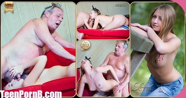 No 603 sex Sabrina Blanc Spoiling an Oldman Young girl