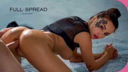 ElegantAnal Alyssia Kent Full Spread Anal Porn