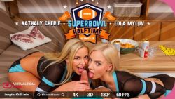 VirtualRealPorn 5K Lola Myluv Nathaly Cherie Virtual Reality